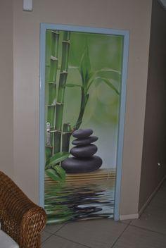 décoration de porte en  DECO'R  www.deco-r.com