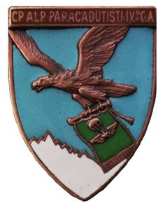 Alpini Paracadutisti Italian Army, Paratrooper, Armed Forces, World War Ii, Troops, Badges, Ww2, Tanks, Patches
