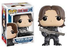 Marvel Captain America: Civil War - Winter Soldier Pop! Vinyl