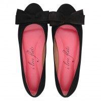 Sapatilha Nobuck Preto Love066AV #sapatilhas #iloveflats #flats #shoes #fashion