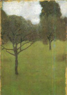 Gustav Klimt, Orchard, 1896, huile sur toile, 39 x 28 cm
