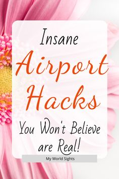 The top airport secrets you shouldn't know! Airport hacks and tips for stress free travel. Packing tips, carry on essentials, and airport tricks! Packing Tips, Travel Packing, Travel Tips, Travel Hacks, Travel Ideas, Wine And Coffee Bar, Airport Hacks, Carry On Essentials, Travel Flights