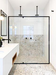 Bathroom Renos, Laundry In Bathroom, Bathroom Renovations, Small Bathroom, Ensuite Bathrooms, Bathroom Wall, Bathroom Design Inspiration, Bathroom Interior Design, Interior Livingroom