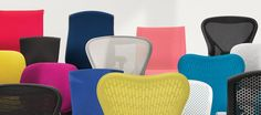 Herman Miller: Click on the product you want, then click the CAD link under the title