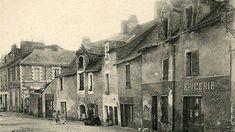 Le très populaire village de Barbin, à Nantes, au bord de l'Erdre, dans les années 20 Un ancien port plutôt mal famé.