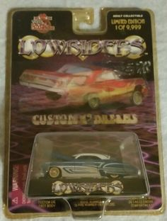 Racing Champions Lowriders 1949 Buick Riviera 1:64 Toy Car Issue 1 #RacingChampions #Buick