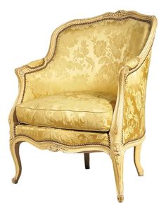 A Painted Louis XV Bergere From Miguel Meirelles French Furniture & Antiques Melbourne Australia