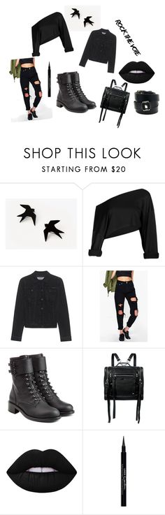 """Başlıksız #12"" by tinaair on Polyvore featuring moda, Calvin Klein Jeans, Boohoo, Philosophy di Lorenzo Serafini, McQ by Alexander McQueen, Lime Crime, Givenchy ve Hermès"