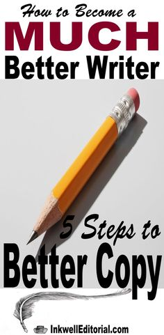 """Do you read some content on the web and go, """"Wow, I wish I could write like that?"""" You can. Writing is a skill that can be developed. The 5 copywriting tips revealed here will get you on the road to becoming a much better writer in no time. If you find these copywriting tips useful, please share. Thanks! L("""