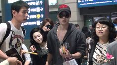 2012 05 06 Kim hyun joong fancam @ Incheon Airport /(Arrival from singapo.../TIME 3:06 - POSTED 6MAY2012 - 62K VIEWS/SHARE YOUR HAPPINESS