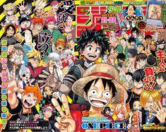 Ranking semanal de la revista Weekly Shonen Jump edición combinada 21 y 22 del 2017.