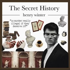 Henry Winter, Fanart, Donna Tartt, Dead Poets Society, The Secret History, Goldfinch, Classic Literature, Book Show, Cute Icons