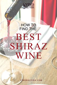 Shiraz or Syrah wine is a full bodied wine that comes from many different regions including Australia and France. This type of wine is known for the smoked and herbal mixture, which makes it very easy to pair with cheeses and meat, so here is how to find the best near you, and you to drink it right... #vinodelvida #shirazwine #shirazredwine #shirazwinepairing #bestshirazwine #shirazwinedrinks #shirazwineaustralia #shirazwinesangria #shirazwinerecipes #shirazwineglasses #shirazwinelabel Shiraz Wine, Types Of Wine, The Smoke, Sangria, Wines, Red Wine, Wine Glass, Herbalism, Australia