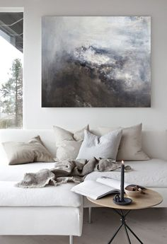 Living room ideas and inspiration in the Scandinavian style. Caught In The Storm… Living room ideas and inspiration in the Scandinavian style. Caught In The Storm_painting by Nina Holst Related lustige Bilder zum. Victorian Living Room, Living Room Modern, Living Room Designs, Room Wall Decor, Living Room Decor, Dining Room, Decorating Small Spaces, Decorating Ideas, Decor Ideas