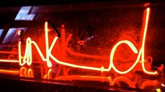 Ink-d neon by Fishtail Neon Studio, UK