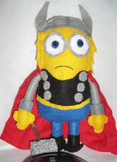 f66df0fb508 Despicable Me minion as Thor. The God of Thunder as played by a minion from
