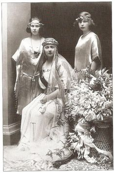 Mignon with Ileana and Kira Kirillovna