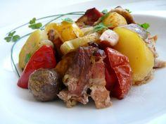 Fotorecept: Bravčové mäso prekladané