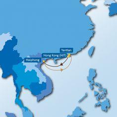 SVG SERVICE:  Yantian - Hong Kong - Haiphong - Yantian