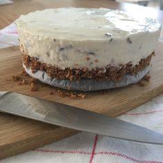 Mon chou cheesecake met nauwelijks suiker - suikervrij