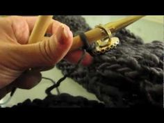▶ How to Knit an Infinity Scarf - YouTube