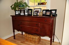 goodwill furniture painted in annie sloane primer red chalk paint