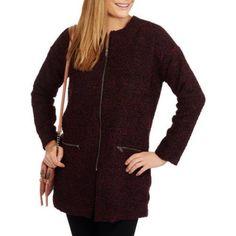 Maxwell Studio Women's Boucle Dolman Fashion Coat, Size: Small, Black