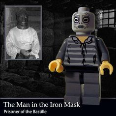 The Man in the Iron Mask.
