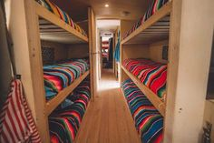 Traveling family renovates old school bus as a solar powered house and hostel … - school bus conversion School Bus Tiny House, Old School Bus, Converted School Bus, School Buses, Bus Remodel, Trailer Remodel, School Bus Rv Conversion, Kombi Motorhome, Campervan