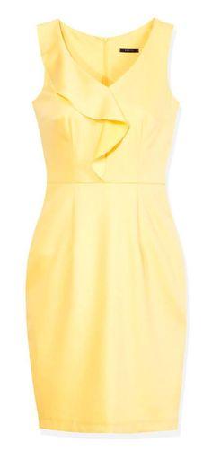 Mohito Summer Cocktail to świeża i dziewczęca linia, nostalgicznie nawiązująca do szalonych lat 60-tych. Idealne połączenie delikatnych pasteli, uzupełnionych bielą z klasycznymi formami i nietuzinkowymi detalami. Rozkloszowane spódnice, zwiewne, koktajlowe sukienki i bluzki z kołnierzykami w stylu retro, to kwintesencja ultrakobiecej sylwetki, inspirowanej lookiem Jacqueline Kennedy czy Brigitte Bardot. X7917-11X - 179,99 pln