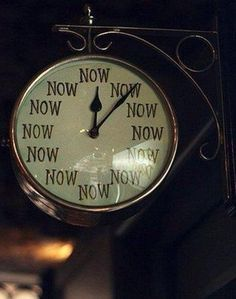 Time is time