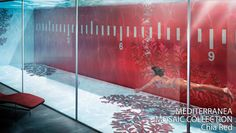Sicis, Chia Red pool, glass sides