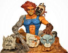 """Thundercats"" comicake 2015 -Richi Barcenas- by Richi Barcenas Sculpted Cakes, 3d Cakes, Read Comics, Disney Cakes, Thundercats, Creative Cakes, Cake Art, How To Make Cake, Amazing Cakes"