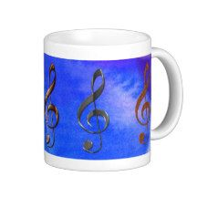 Treble Cleff Music-Lover Mugs