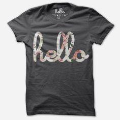 Hello tee shirt | Hello Spring Fashion | Beauty and the Binky blog: