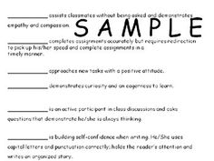 22 Best POSITIVE Report Card Comments ideas for struggling