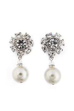 Badgley Mischka Jewelry Luminosity Pearl Earrings