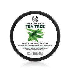 Tea Tree Oil Skin Clearing Face Mask for Oily & Acne Prone Skin | The Body Shop ®