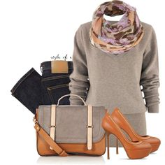 Color Block Satchel by styleofe on Polyvore featuring Nudie Jeans Co., Sergio Rossi and Warehouse