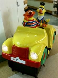 Sesame Street Big Bird Airplane Coin-Operated Ride (Audio ...