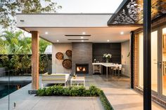 A well-formed backyard lounge design delivers the Lounge Design, Pergola Designs, Pool Designs, Pergola Ideas, Backyard Designs, Landscaping Ideas, Backyard Ideas, Patio Roof, Backyard Patio