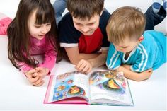 Speech, Language and Literacy: Emergent Readers | CSLOT – Center ...  - This image shows three young children reading a book together. People should see this photo because group reading is a very fun activity for a child and increases friendships among the students. It also helps with problem-solving when it comes to word pronunciations.