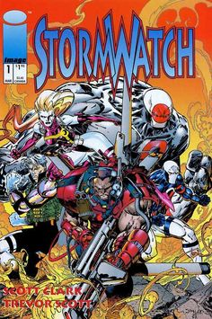 Stormwatch #1, March 1993, cover by Jim Lee