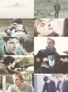 Merlin AU || Merlin and Arthur reunite in the future... Awesome :)