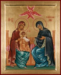 Mary And Jesus, Orthodox Icons, Trinidad, Saints, God, Icons, Art, Dios, Allah