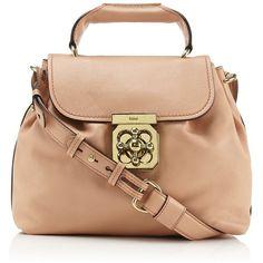 CHLOÉ Small Elsie Shoulder Bag ❤ liked on Polyvore