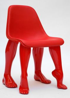 Kaws chair Great conversation piece.