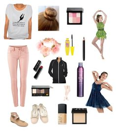 """For competition"" by mzach0 ❤ liked on Polyvore featuring Jessica Simpson, E. Porselli, CAbi, Accessorize, Bobbi Brown Cosmetics, Maybelline, INIKA, NARS Cosmetics and Bumble and bumble"