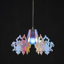 Amarilli was a nymph: this contemporary chandelier takes inspiration by the waters in which she lived.