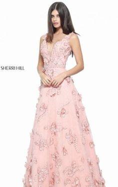 c4e7d263eb64 A-Line Lace Gown by Sherri Hill 51111 Sherri Hill Homecoming Dresses